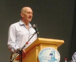 אולמרט.צילום.מערך תהודה, אוניברסיטת חיפה