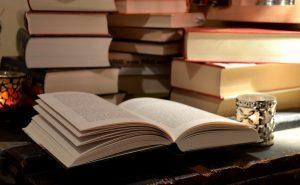 ספרים וסופרים בנחלה.צילום באדיבות מנהלת מדרחוב נחלת בנימין