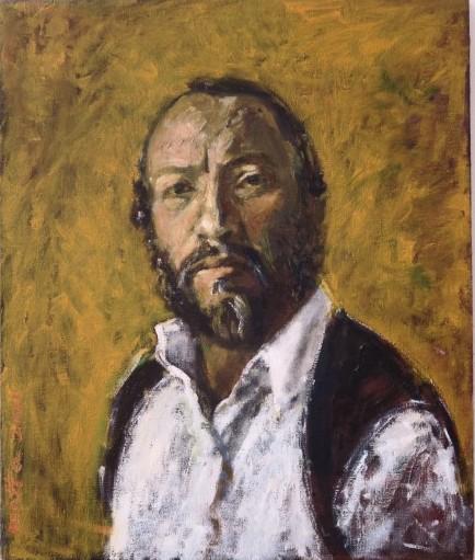 """תערוכה חדשה במכללת תלפיות:""""צייר החצר"""" של מוטה ברים, חסיד החצר 'בויאן'"""