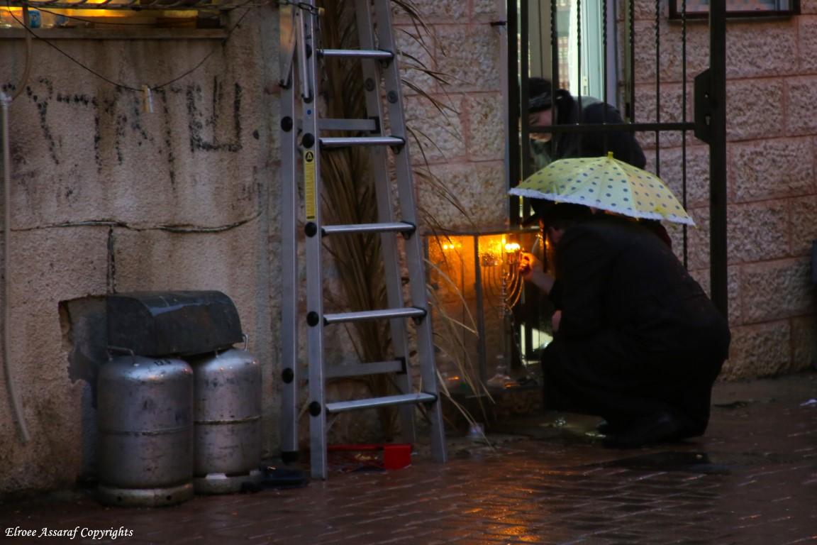 """התמונה השבועית של אלרואי והעדשה:""""גם בגשם…"""""""
