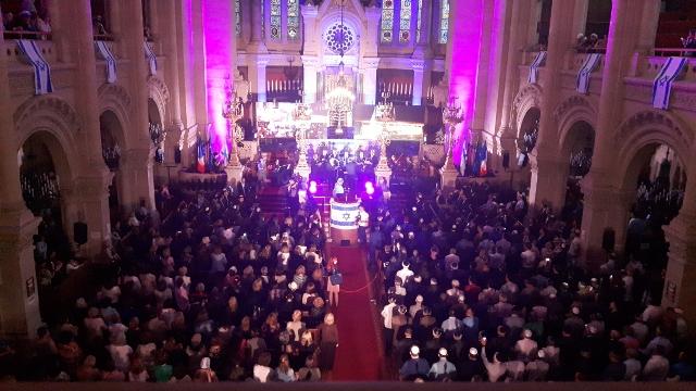 יום ירושלים בפריז : אירוע מרגש בבית הכנסת הגדול la grand viktuar