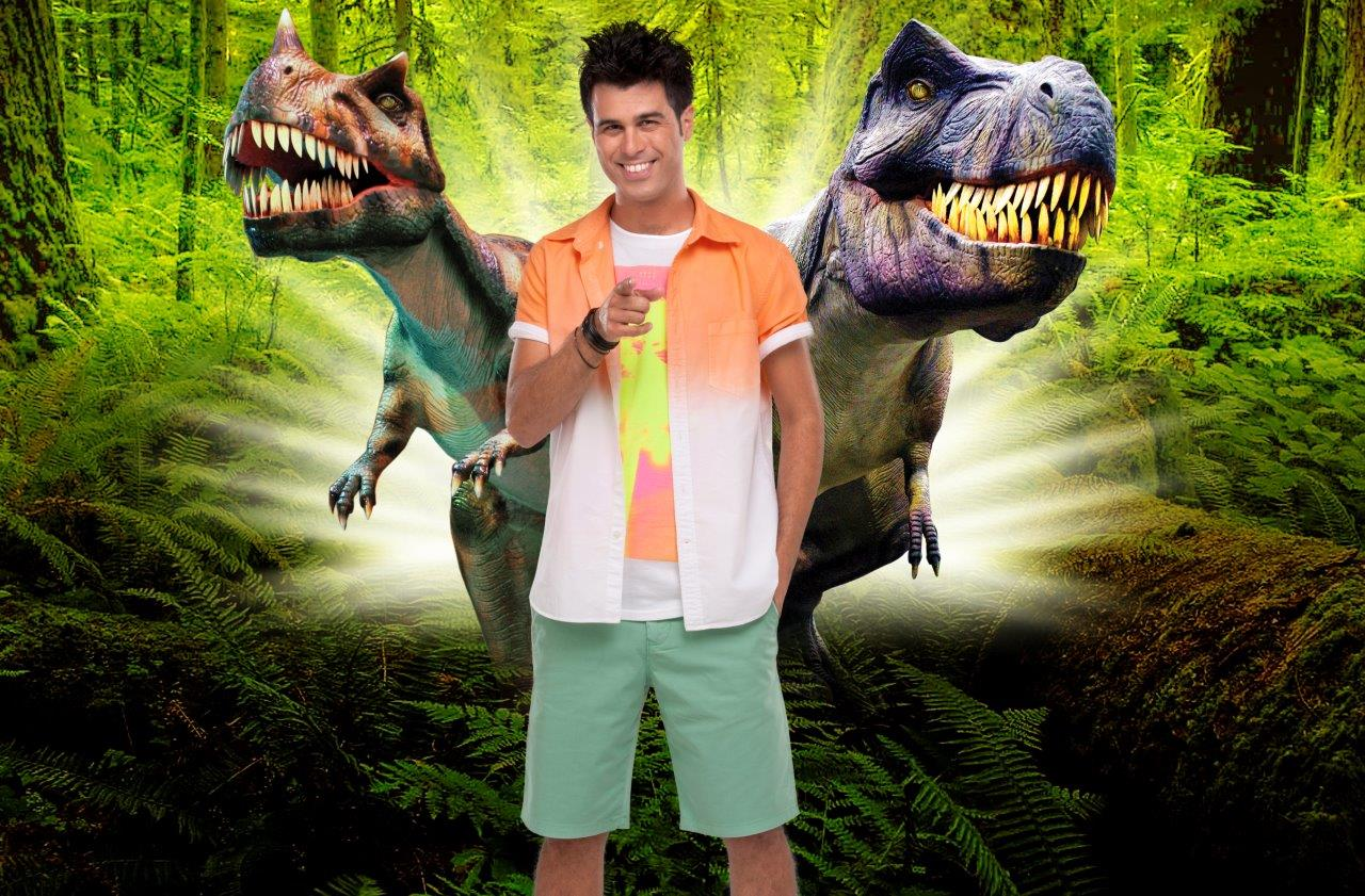 ממלכת הדינוזאורים מגיעה לתל אביב