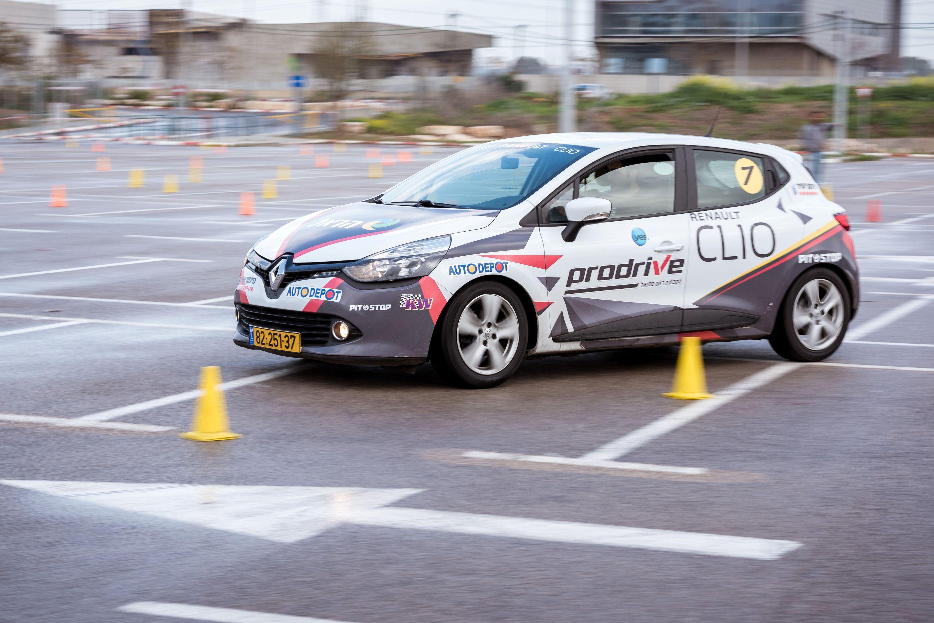 חדש: מסלול נהיגה אתגרית בראשון לציון