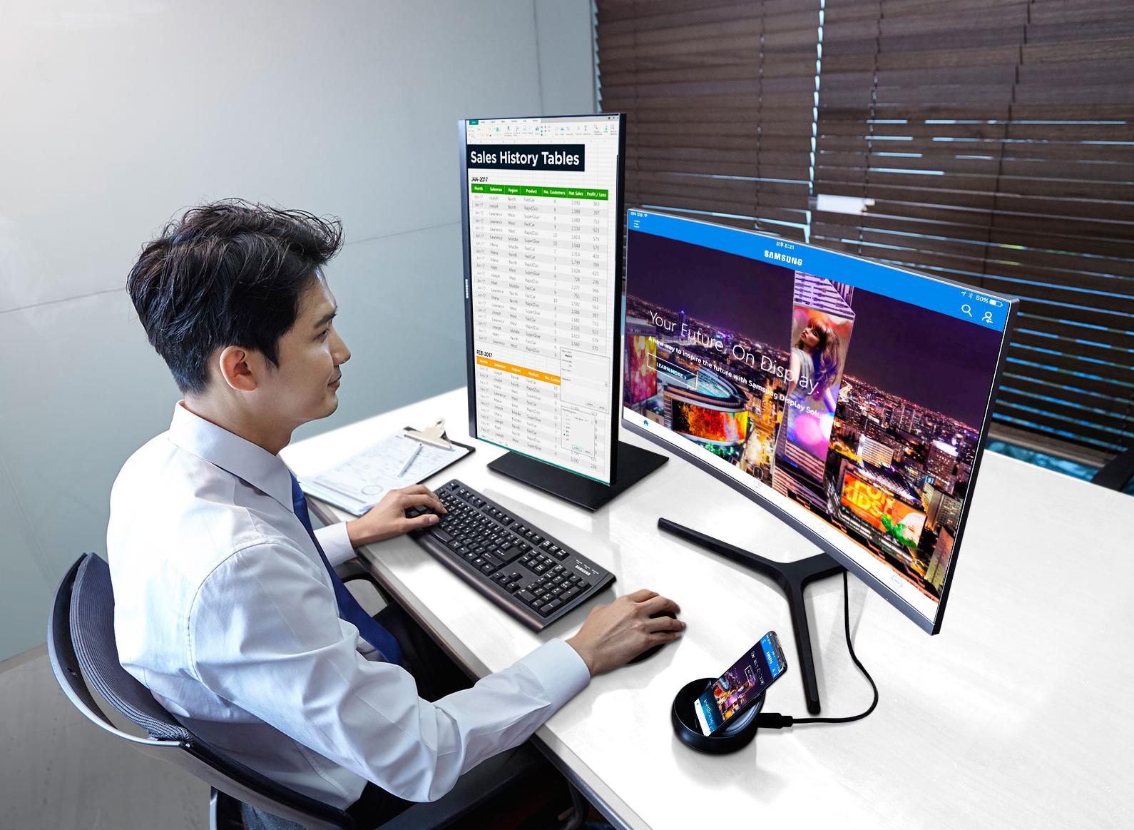 סמסונג תשיק בקרוב 3 מסכים מקצועיים חדשים