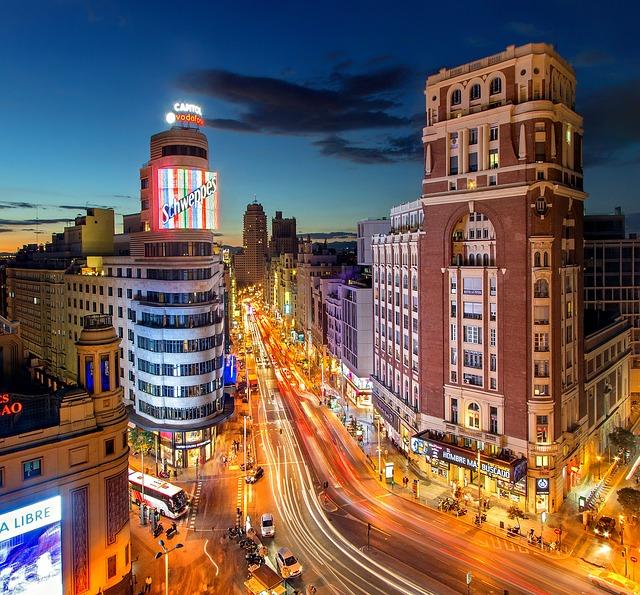 מדריד – אטרקציות תיירותיות