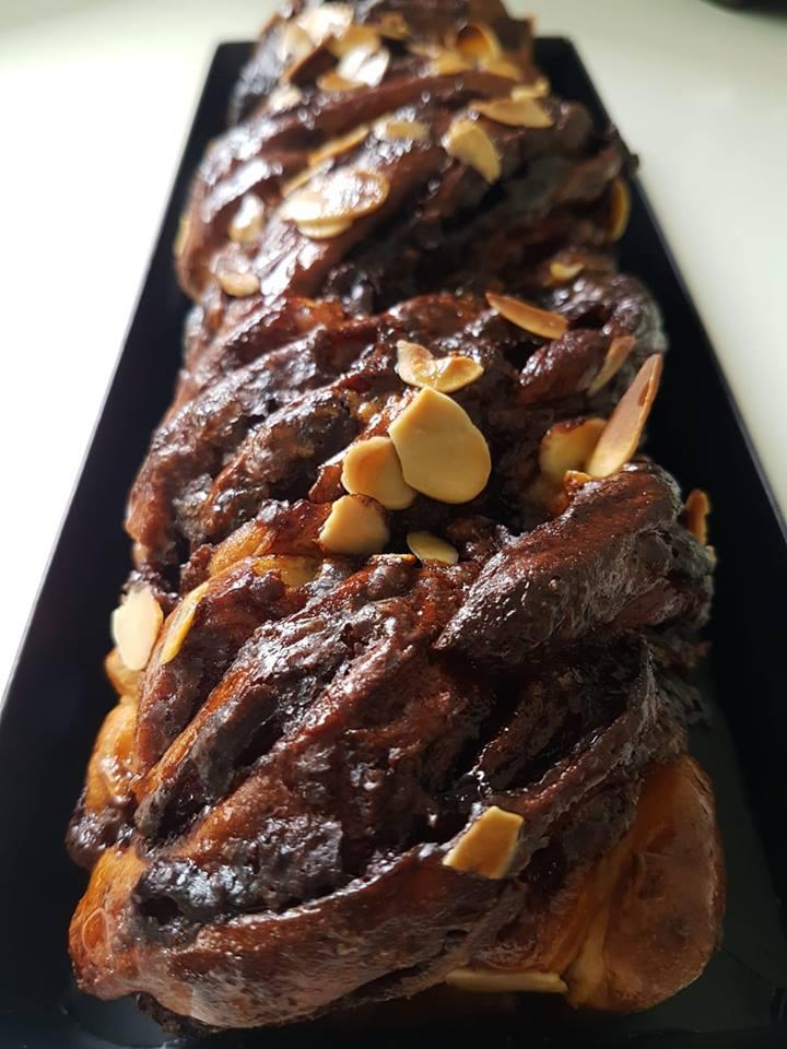 עוגת שמרים שוקולד קראנץ – ממכרת!!!!