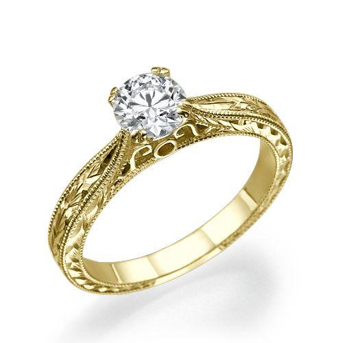טבעות אירוסין – זהב צהוב או לבן?