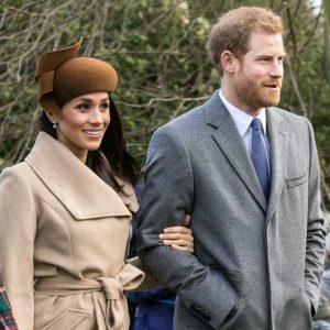הזוג המלכותי הנסיך הארי ומייגן מרקל