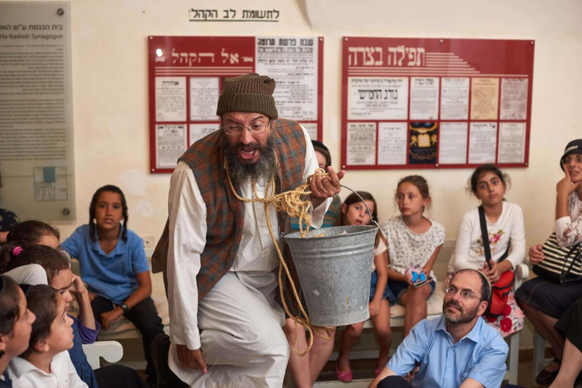 מאאתיים סיפורים ירושלמיים – חגיגה ירושלמית אותנטית במוזיאון חצר היישוב הישן בעיר העתיקה ירושלים