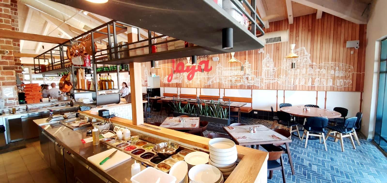 ג'ויה מסעדות איטלקיות פותחת סניף כשר בראש פינה