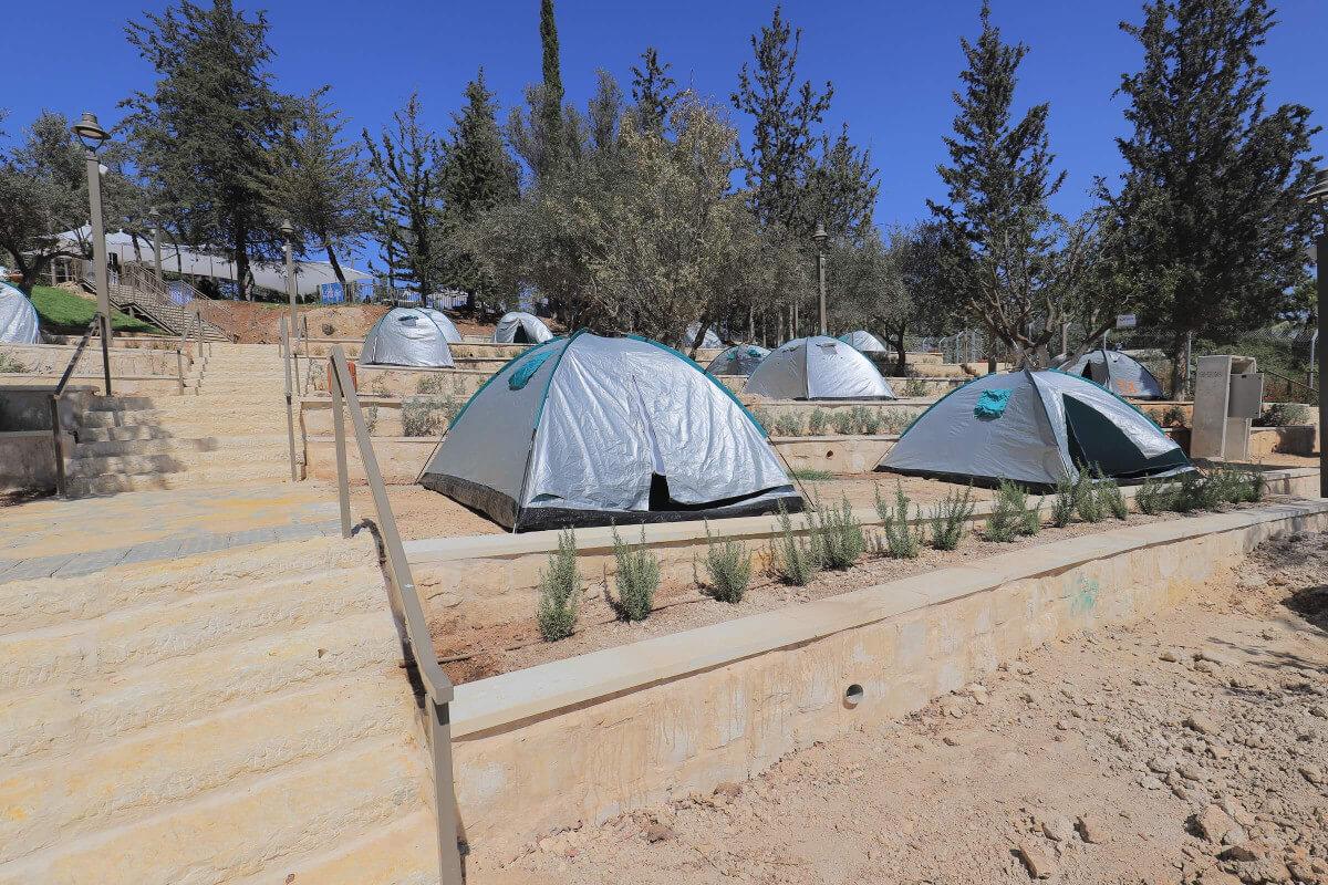 ערב התעוררות | לראשונה בירושלים: מתחם קמפינג עירוני