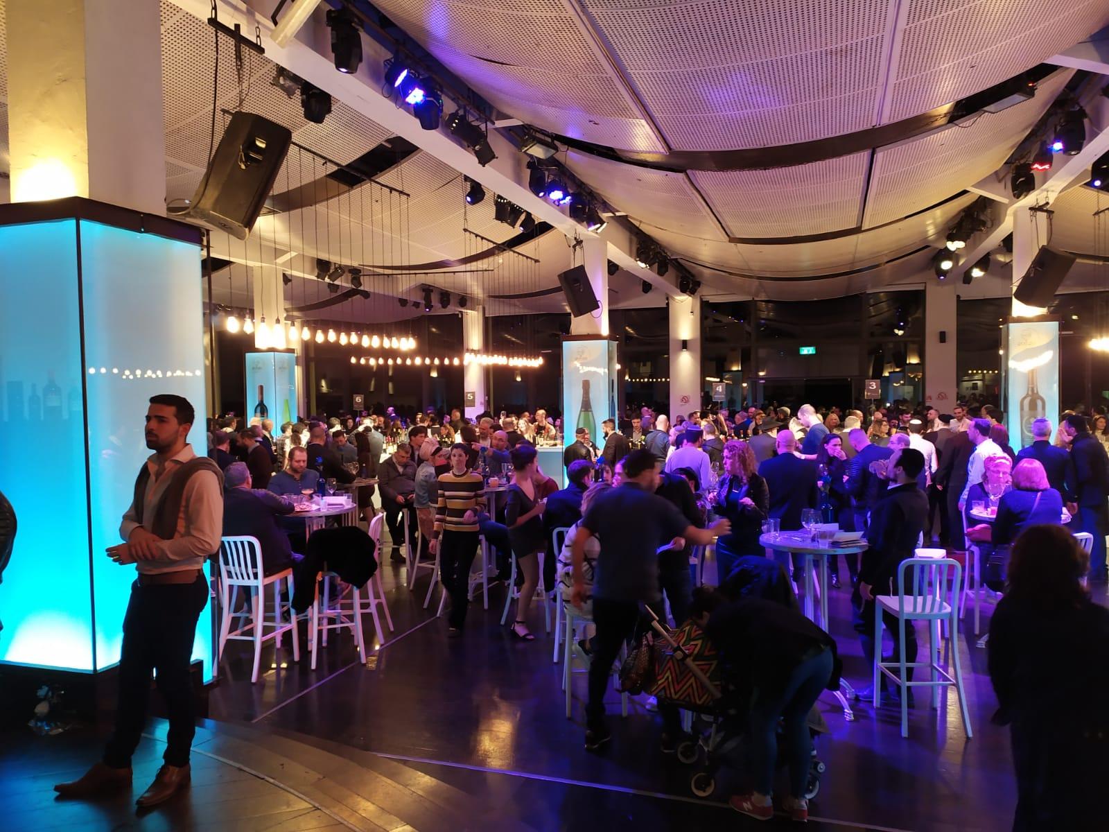 כ-2000 מבקרים בפסטיבל היין הבינלאומי הכשר 'טועמים עולם'