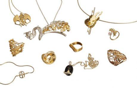 תכשיטים בהשראת שירים בתחרות עיצוב תכשיטים ברמת גן