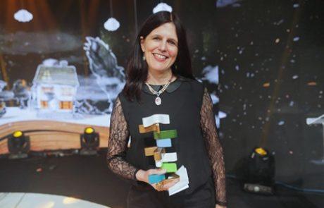 """הזוכה בפרס ספיר 2016: מיכל בן-נפתלי עם ספרה """"המורה"""""""