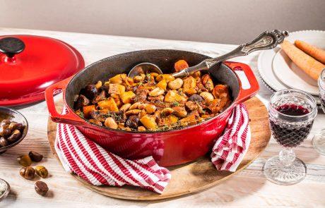 מתכון לימי החורף הקרים: תבשיל בקר עם קטניות איטלקיות