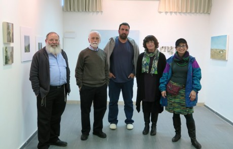 """תערוכה לט""""ו בשבט:ציורים אופטימיים לנופי ארץ ישראל"""