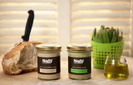 תכינו את הלחם ממרחים חדשים לחברת Nany