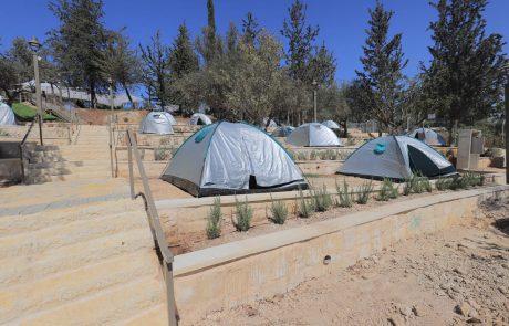 ערב התעוררות   לראשונה בירושלים: מתחם קמפינג עירוני
