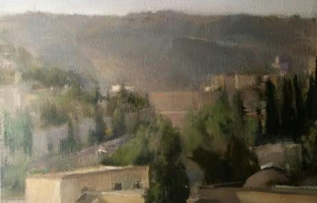 """לקראת ט""""ו בשבט:מכללת תלפיות מציגה תערוכה של ציורי ארץ ישראל"""