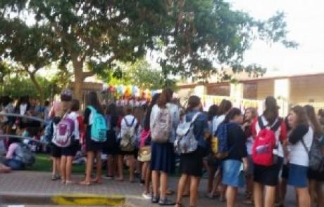 דעה:שהחיינו וקיימנו והגיענו ליום פתיחת שערי בית הספר