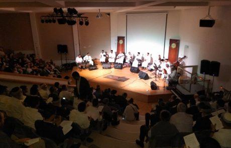 מאות הגיעו לקונצרט מולוע'אין' – מכורים לשירה האנדלוסית
