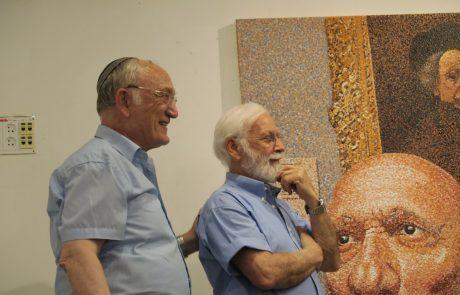 האמן אלדד זיו והפרעות קשב בגלריה האחרת במכללת תלפיות