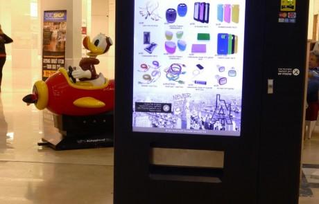 מכונות ממכר חדשניות למוצרי סלולר