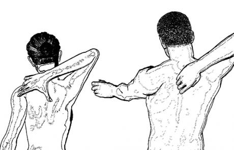 טיפול בכאבי גב במכשיר גלי הלם